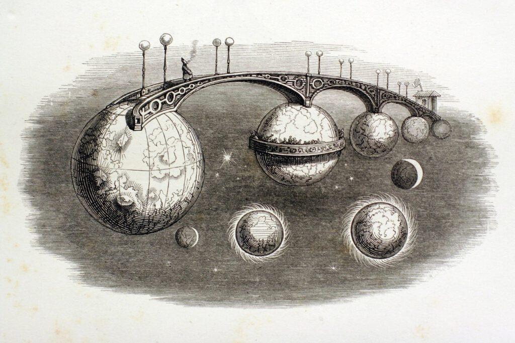 Grandville »Un Autre Monde« (1843/44, H. Fournier)
